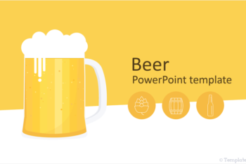 Free Beer Art Slides Powerpoint Template