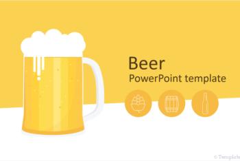 Free Beer Art Slides Powerpoint Template