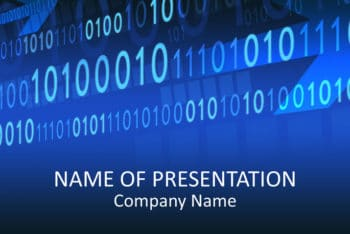 Free Binary Code Concept Powerpoint Template