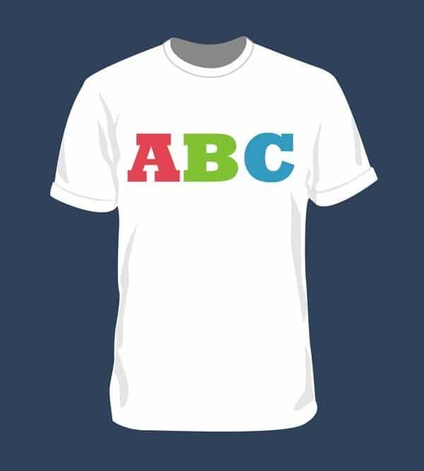 Blank T-Shirt PSD Mockup