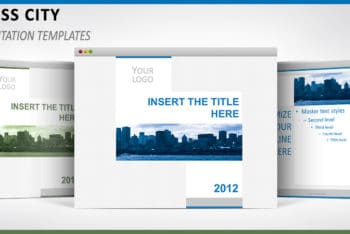 Free Business City Concept Powerpoint Template