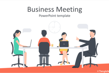 Free Business Meeting Slides Powerpoint Template