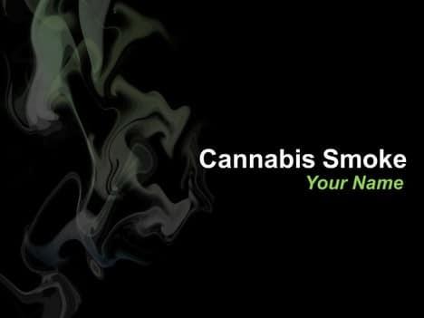 Cannabis Smoke Concept