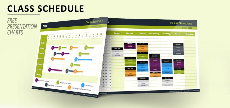 Class Schedule Slides