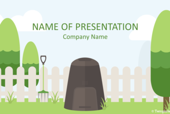Free Composting Concept Slide Powerpoint Template