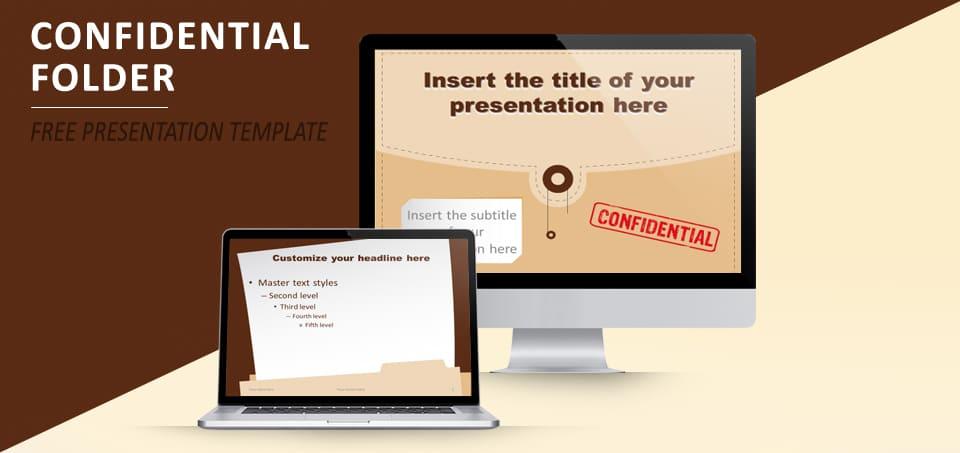 Confidential Folder Slides