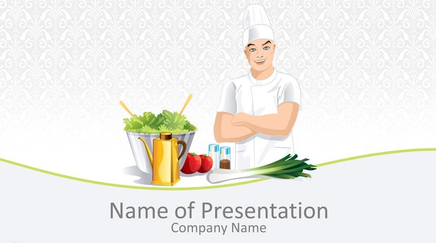 Male Chef Art