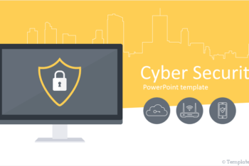 Free Cyber Security Lessons Powerpoint Template