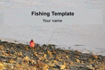 Free Fishing Activity Slides Powerpoint Template