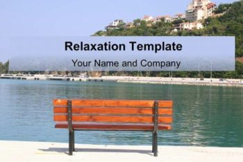 Free Relaxation Spot Concept Powerpoint Template