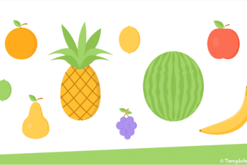 Free Fruit Vector Icons Powerpoint Template