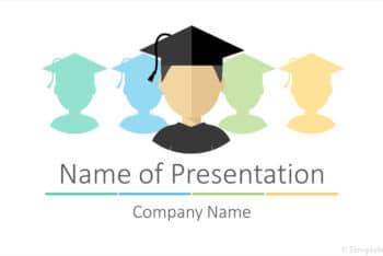 Free Graduation Vector Slides Powerpoint Template