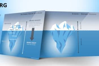 Free Iceberg Concept Diagram Powerpoint Template
