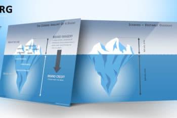 Free Iceberg Concept Diagram Powerpoint Template