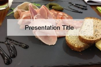 Free Healthy Light Meal Powerpoint Template