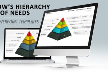 Free Maslow Hierarchy Pyramid Powerpoint Template