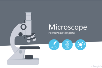 Free Microscope Concept Slides Powerpoint Template
