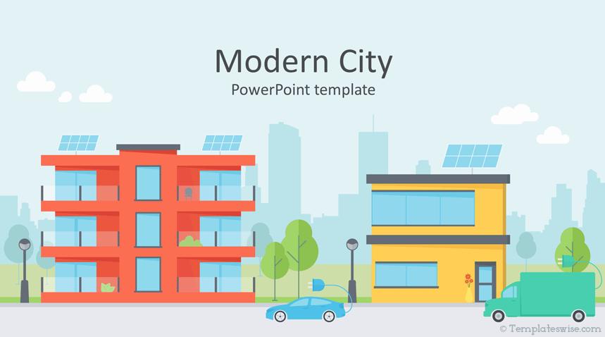 Modern City Vectors