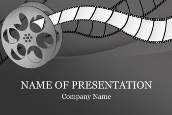 Free Film Study Slides Powerpoint Template