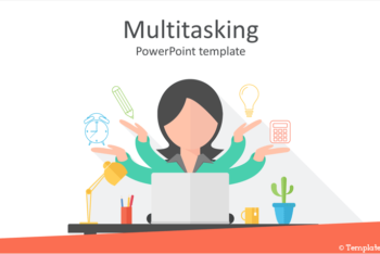 Free Multitasking Concept Slides Powerpoint Template