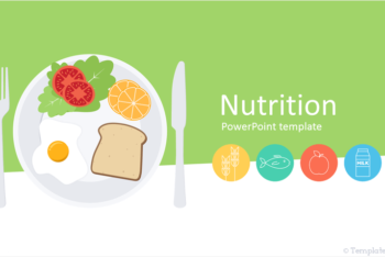 Free Nutrition Plan Slides Powerpoint Template