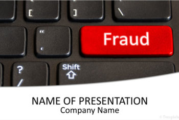 Free Online Fraud Avoidance Powerpoint Template