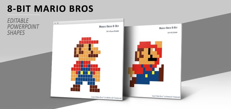 Pixel Mario Art