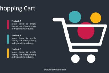 Free Shopping Cart List Powerpoint Template