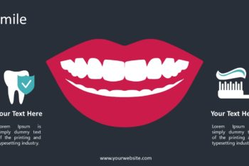 Free Healthy Natural Smile Powerpoint Template