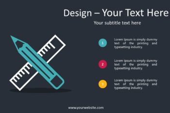 Free Design Example Concept Powerpoint Template