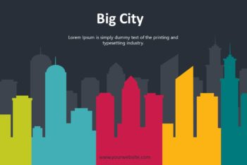 Free Big City Slides Powerpoint Template