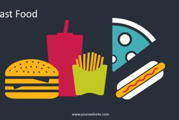Free Dirty Fast Food Powerpoint Template