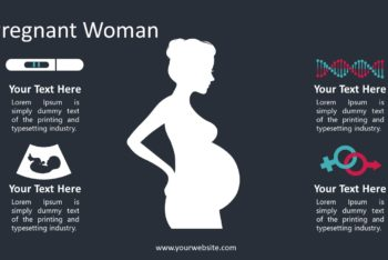 Free Pregnant Woman Care Powerpoint Template