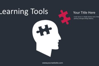 Free Learning Tools Concept Powerpoint Template