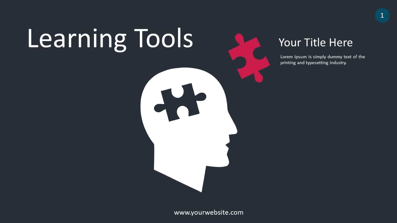 Learning Tools Concept