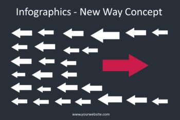 Free New Way Concept Powerpoint Template