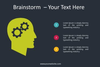 Free Brainstorm Concept Slides Powerpoint Template