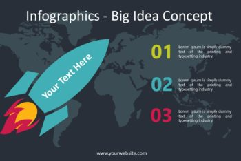 Free Big Idea Concept Powerpoint Template