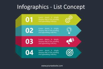Free List Infographics Slides Powerpoint Template