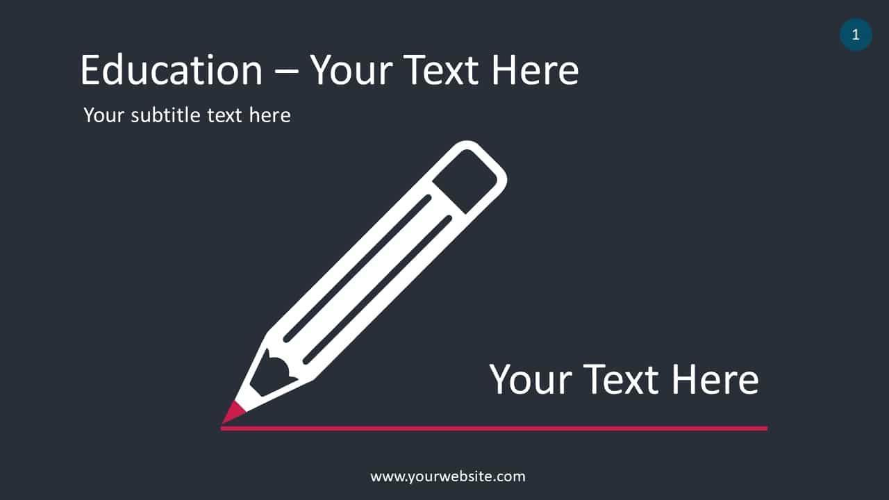 Education Pencil Concept