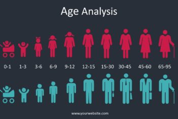 Free Age Group Analysis Powerpoint Template