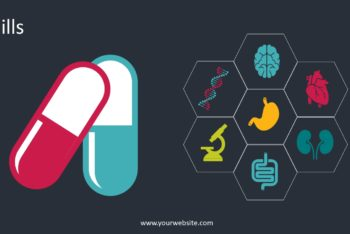 Free Nutrition Pills Concept Powerpoint Template