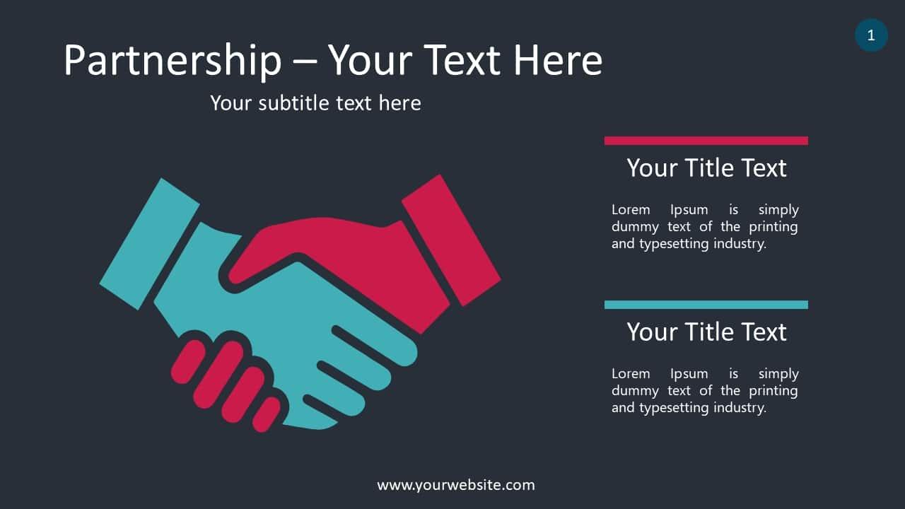 Partnership Benefits Concept