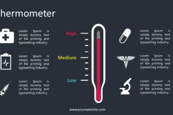 Free Thermometer Lesson Slides Powerpoint Template