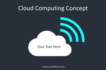Free Cloud Computing Tech Powerpoint Template