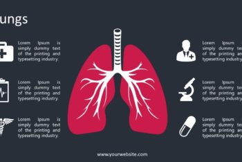 Free Lung Care Slides Powerpoint Template