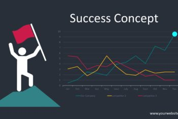 Free Success Metrics Concept Powerpoint Template