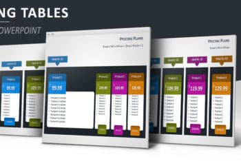 Free Digital Pricing Tables Powerpoint Template