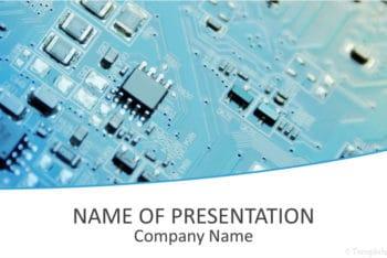 Free Circuit Board Orientation Powerpoint Template
