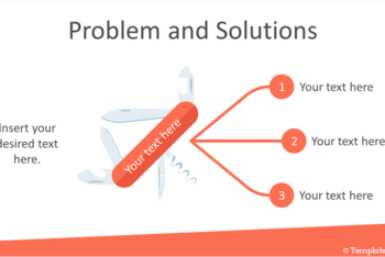 Free Problems Plus Solutions Powerpoint Template